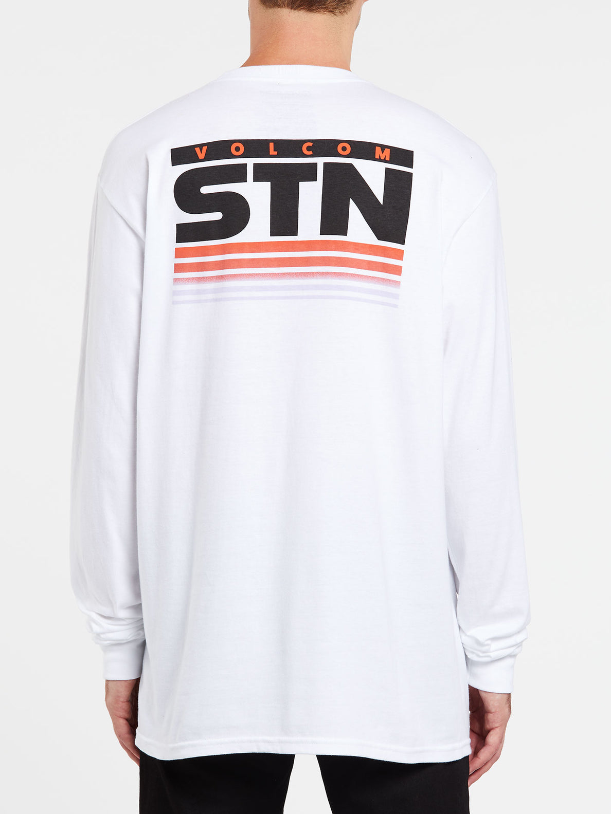 Bloxer Long Sleeve Tee - White (A3632000_WHT) [B]