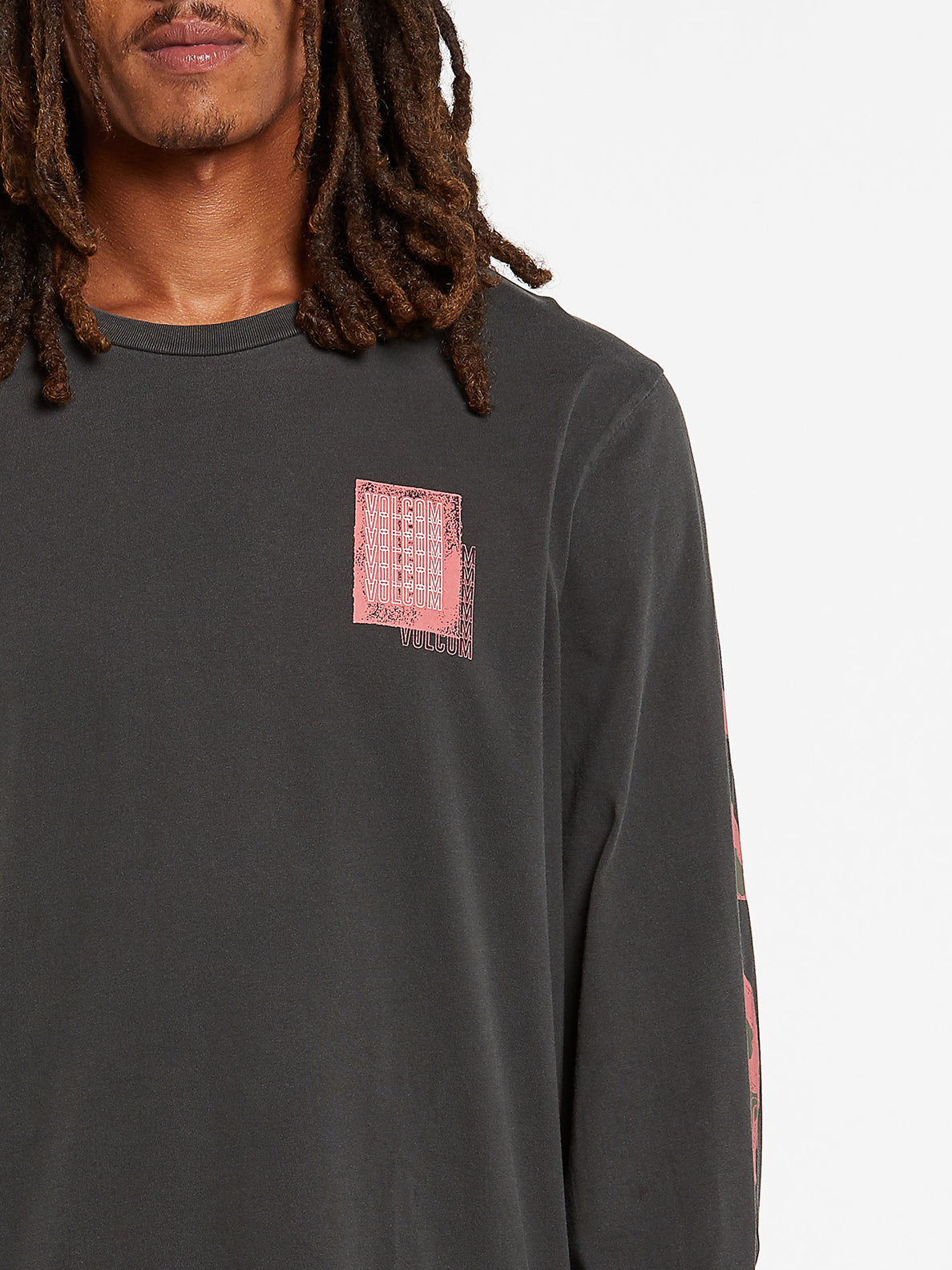 Concussion Long Sleeve Tee - Black (A3632001_BLK) [2]