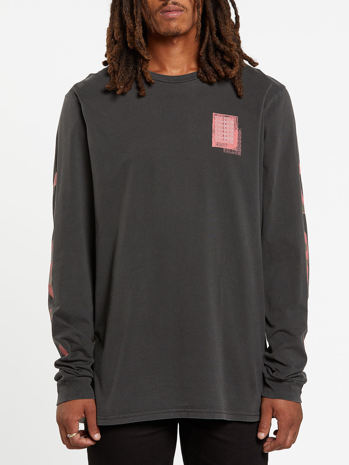 Concussion Long Sleeve Tee - Black (A3632001_BLK) [F]