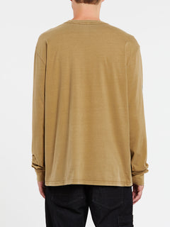 Deadly Girl Long Sleeve Tee - Sand Dune (A3632004_SDN) [B]