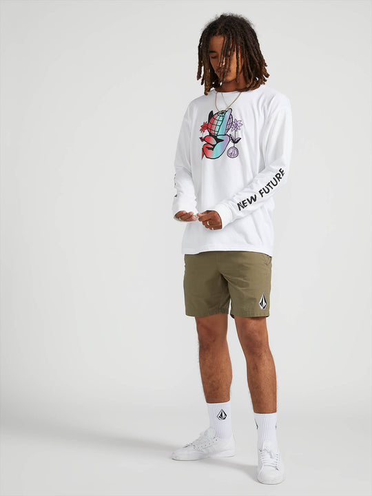 Future World Long Sleeve Tee - White (A3641903_WHT) [01]