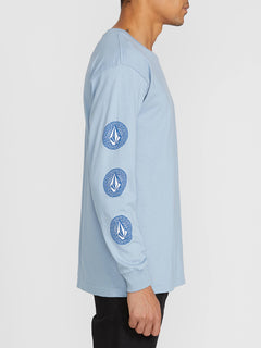 Future Stones Long Sleeve Tee - Flight Blue (A3641905_FLB) [2]