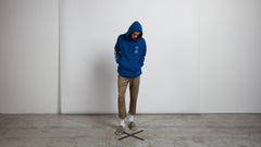 Reload Pullover Hoodie In Camper Blue, Wide View