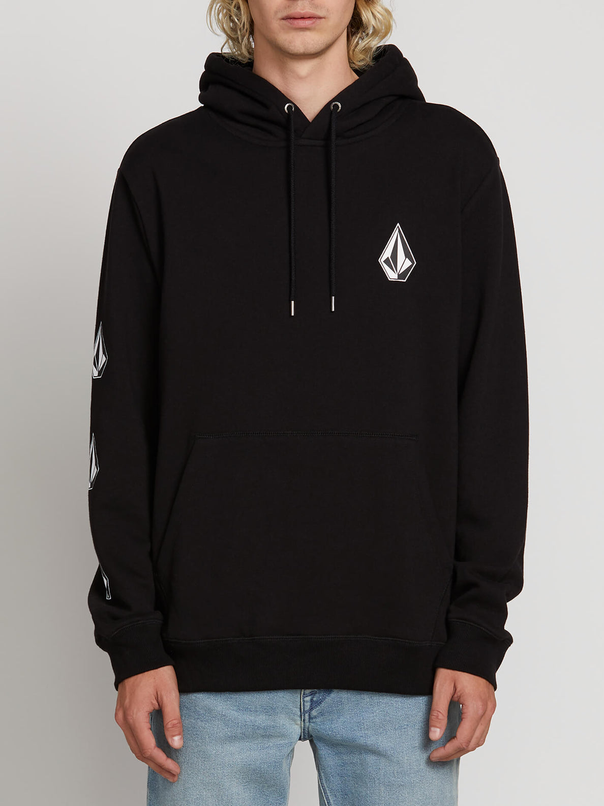75f57eaaf Deadly Stones Pullover Hoodie - New Black – Volcom