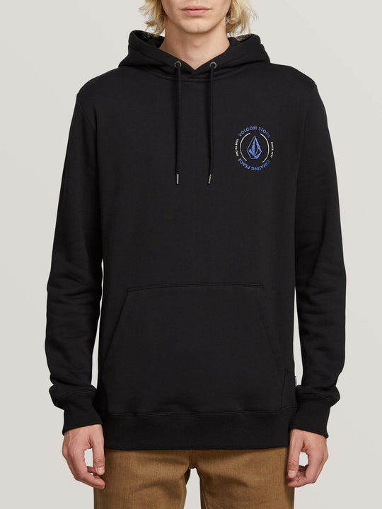Supply Stone Pullover Hoodie - Black