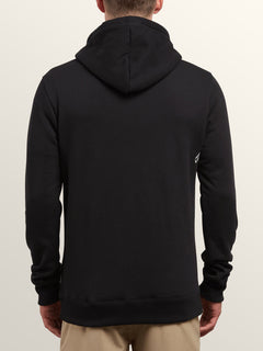 Supply Stone Pullover Hoodie In Black, Back View