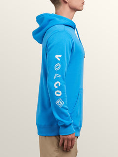 Supply Stone Pullover Hoodie In Free Blue, Alternate View