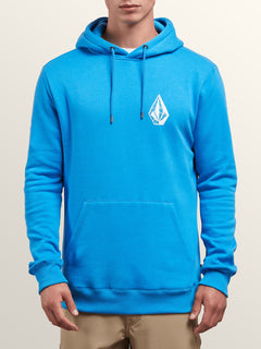 Supply Stone Pullover Hoodie In Free Blue, Front View