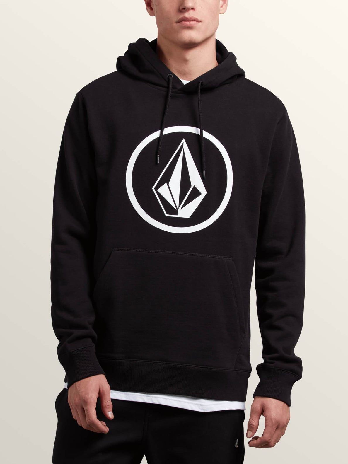 Volcom Mens Pullover Hooded Fleece