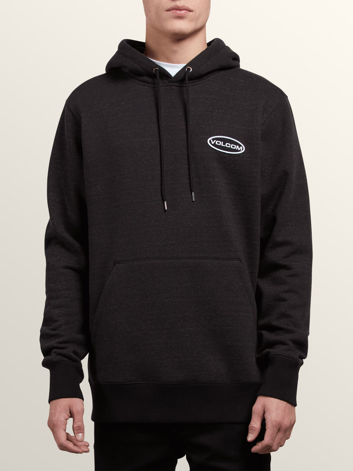 Shop Pullover Hoodie In Lead, Front View