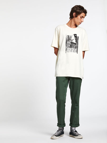 Hunter Gather Short Sleeve Tee - Off White