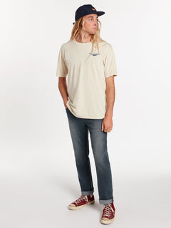 Bright Short Sleeve Tee - White Flash (A4322004_WHF) [07]