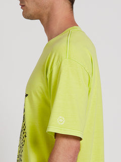 Clairvoyant Short Sleeve Tee - Hilighter Green (A4322005_HIG) [1]