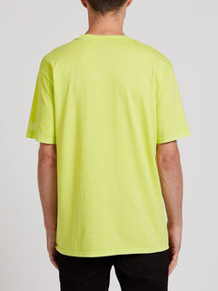 Clairvoyant Short Sleeve Tee - Hilighter Green (A4322005_HIG) [B]