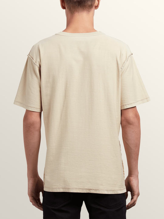 Noa Noise Head Short Sleeve Tee In Clay, Back View