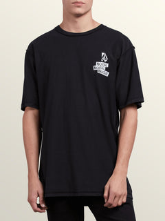 Noa Noise Short Sleeve Tee In Black, Front View