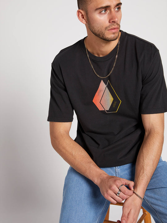 This Close Short Sleeve Tee - Black