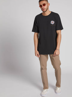 Power Short Sleeve Tee - Black (A4331907_BLK) [2]