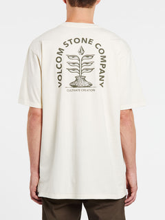 Culturevate Short Sleeve Tee - Off White (A4332004_OFW) [B]