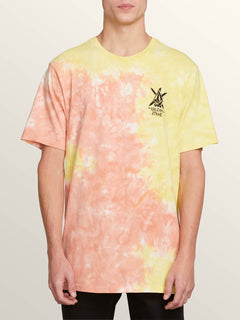 Mc Jagged Short Sleeve Tee In Tropic Yellow, Front View