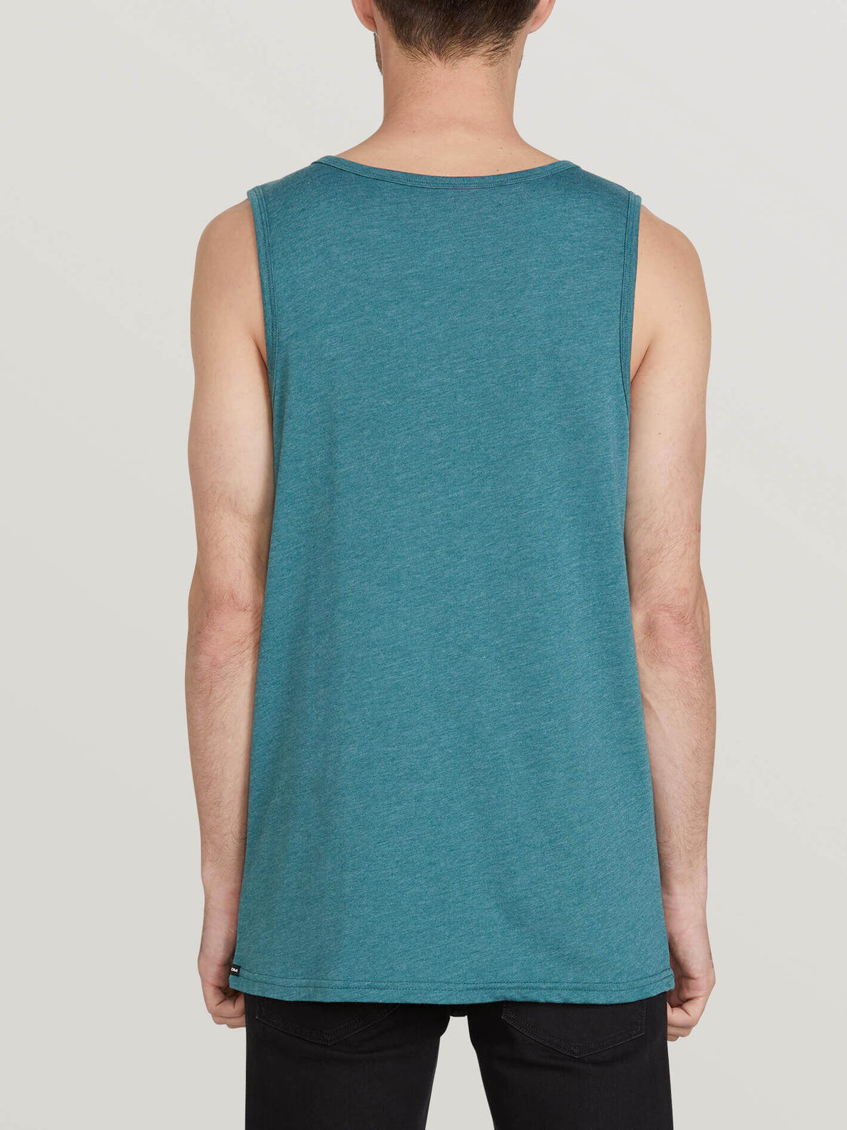 Solid Heather Tank - Mediterranean