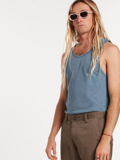 Solid Heather Tank - Stormy Blue (A4511704_STB) [04]