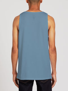 Solid Heather Tank - Stormy Blue (A4511704_STB) [B]