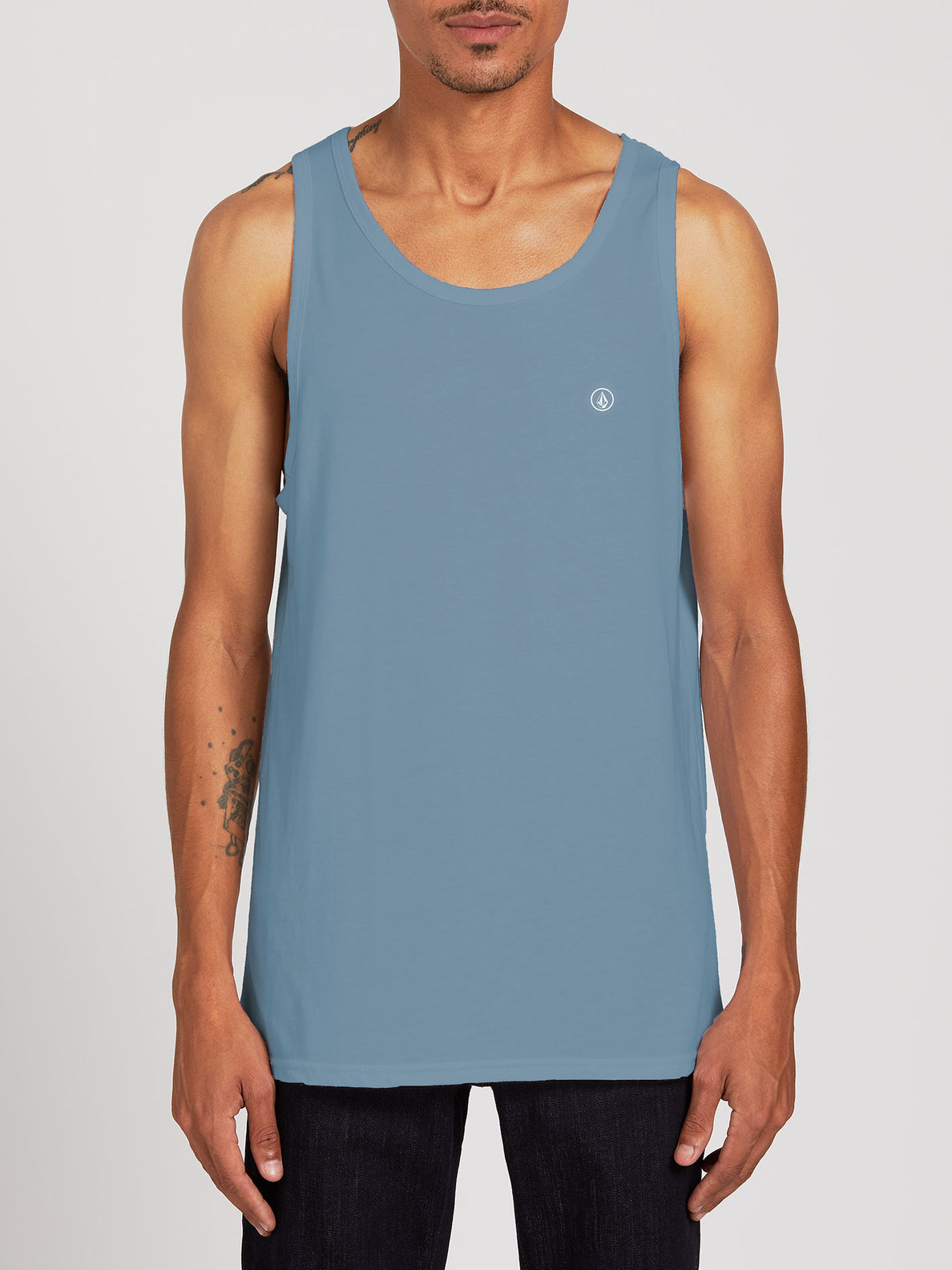 Solid Heather Tank - Stormy Blue (A4511704_STB) [F]