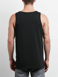 Stone Radiator Tank In Black, Back View