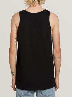 Stone Sound Tank In Black, Back View