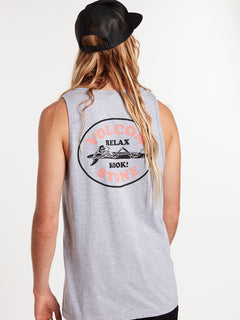 Skelax Tank - Heather Grey (A4522002_HGR) [32]