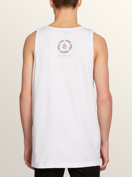 Vpp Helmet Tank In White, Back View