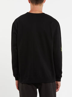 Not Ugly Crew Fleece - Black