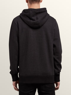 Shop Zip Hoodie In Lead, Back View