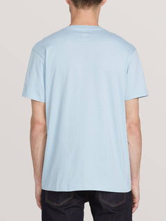 Spray Stone Short Sleeve Tee - Slate Blue (A5011900_SLB) [B]
