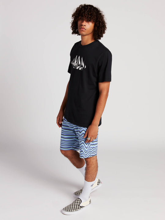Stone Sounds Short Sleeve Tee - Black
