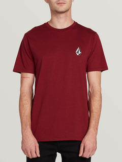 Deadly Stone Short Sleeve Tee - Cabernet