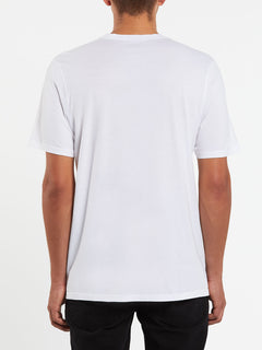 Deadly Stone Short Sleeve Tee - White (A5011908_WHT) [B]