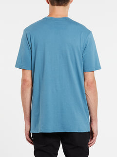 Deadly Stone Hi Short Sleeve Tee - Horizon Blue (A50119H0_HZN) [B]