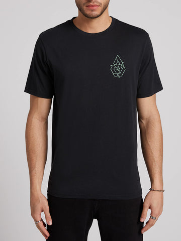 e03664668e Message Short Sleeve Tee - Black