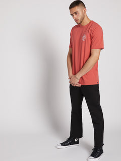 Message Short Sleeve Tee - Mineral Red (A5021908_MNL) [17]