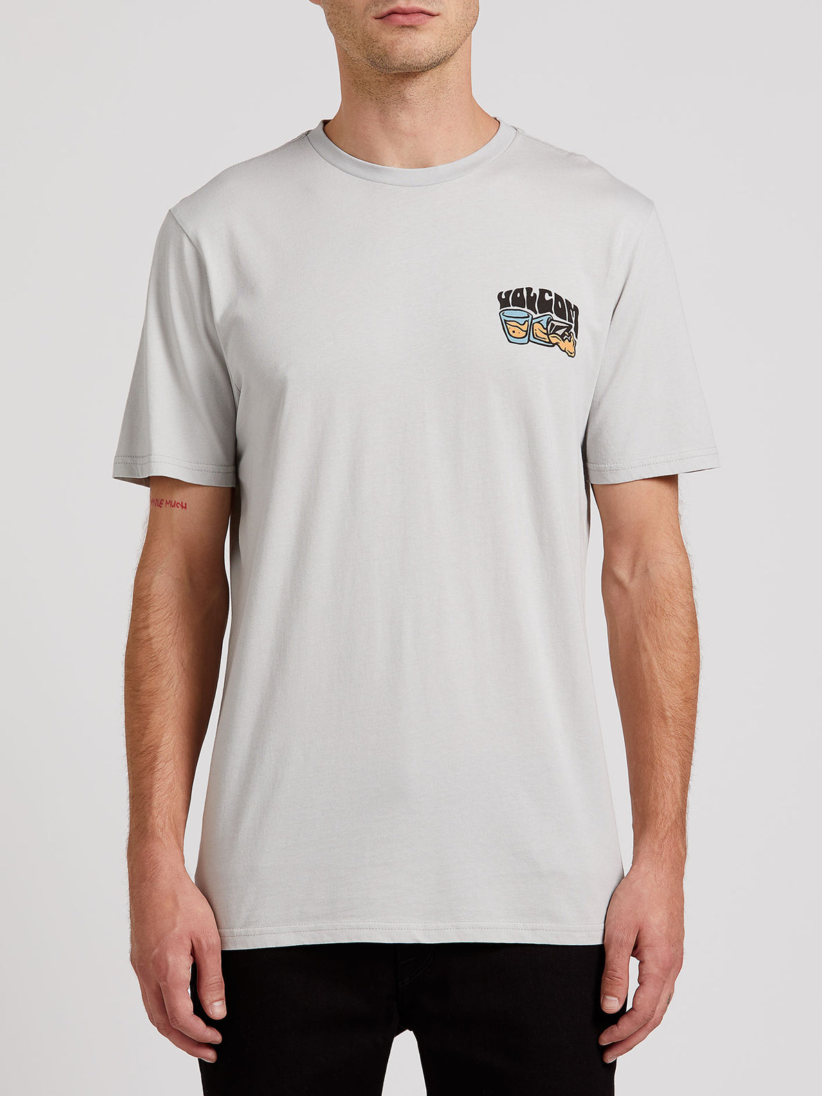 Pearys Short Sleeve Tee - Tower Grey (A5022004_TWR) [F]