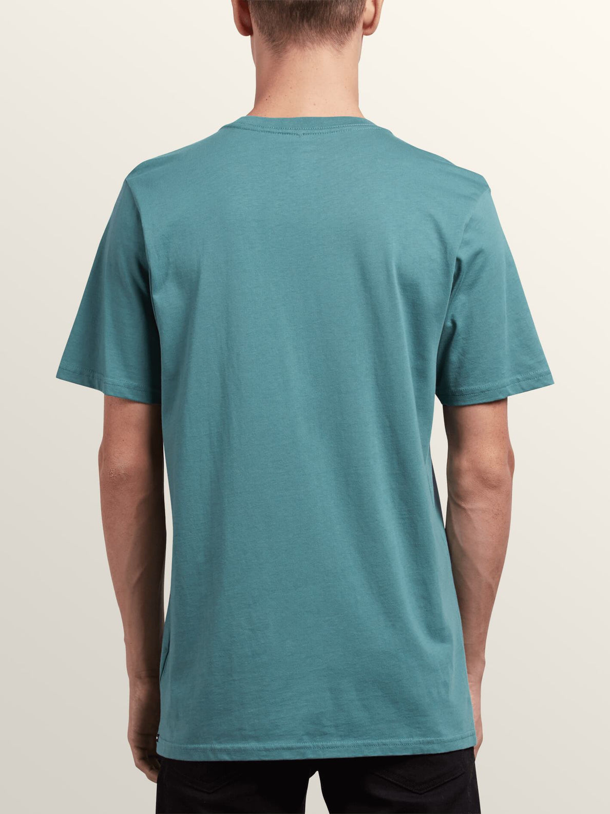 Extrano Short Sleeve Tee In Pine, Back View