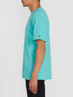 Solid Short Sleeve Tee - Mysto Green (A5031807_MYS) [1]