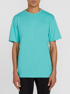 Solid Short Sleeve Tee - Mysto Green (A5031807_MYS) [F]