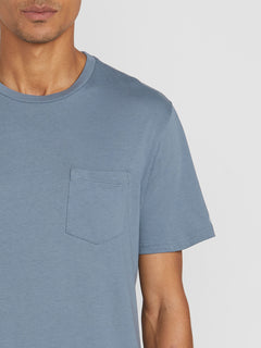 Solid Pocket Short Sleeve Tee (A5031808_STB) [1]