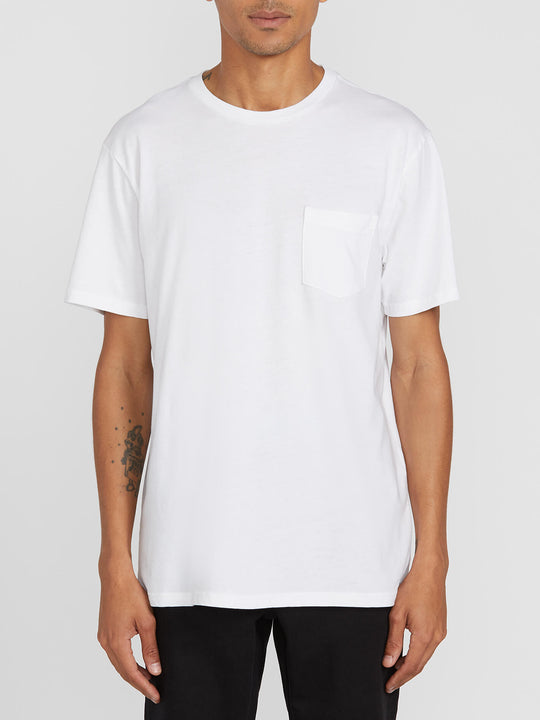 Solid Pocket Short Sleeve Tee