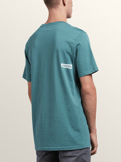 Deadly Stone Short Sleeve Tee In Pine, Back View