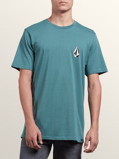Deadly Stone Short Sleeve Tee In Pine, Front View