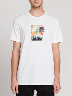Command Short Sleeve Tee - White (A5031907_WHT) [F]